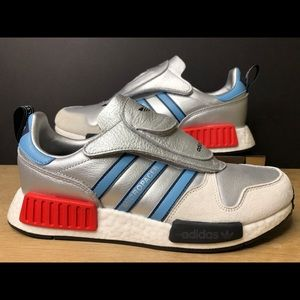 Adidas Micropacer X R1 NMD Never Made Pack Silver